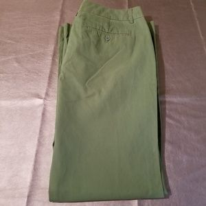 "Express Pants - Express ""Editor"" Green Falre Trouser Pants"